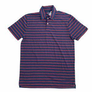 Gap Striped Polo Shirt Short Sleeve
